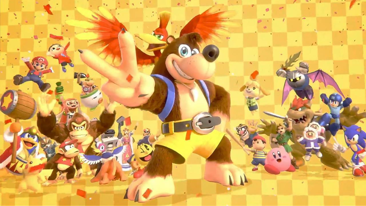 Super Smash Bros. Ultimate -- And Banjo-Kazooie, too!