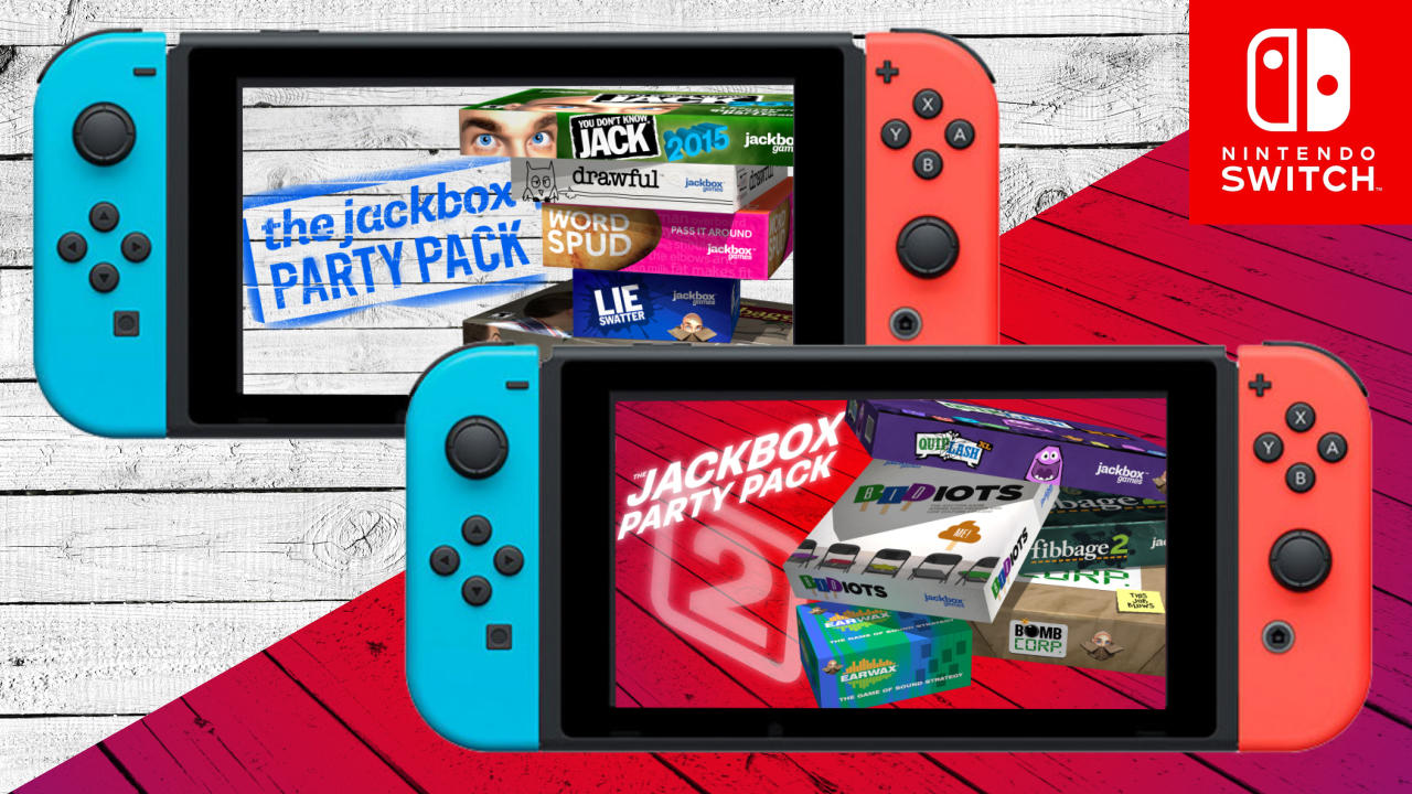Jackbox Party Pack Games
