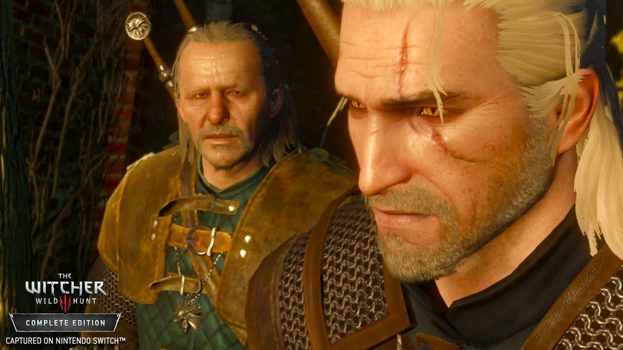 With the Nintendo Switch, you can take Geralt on the go.