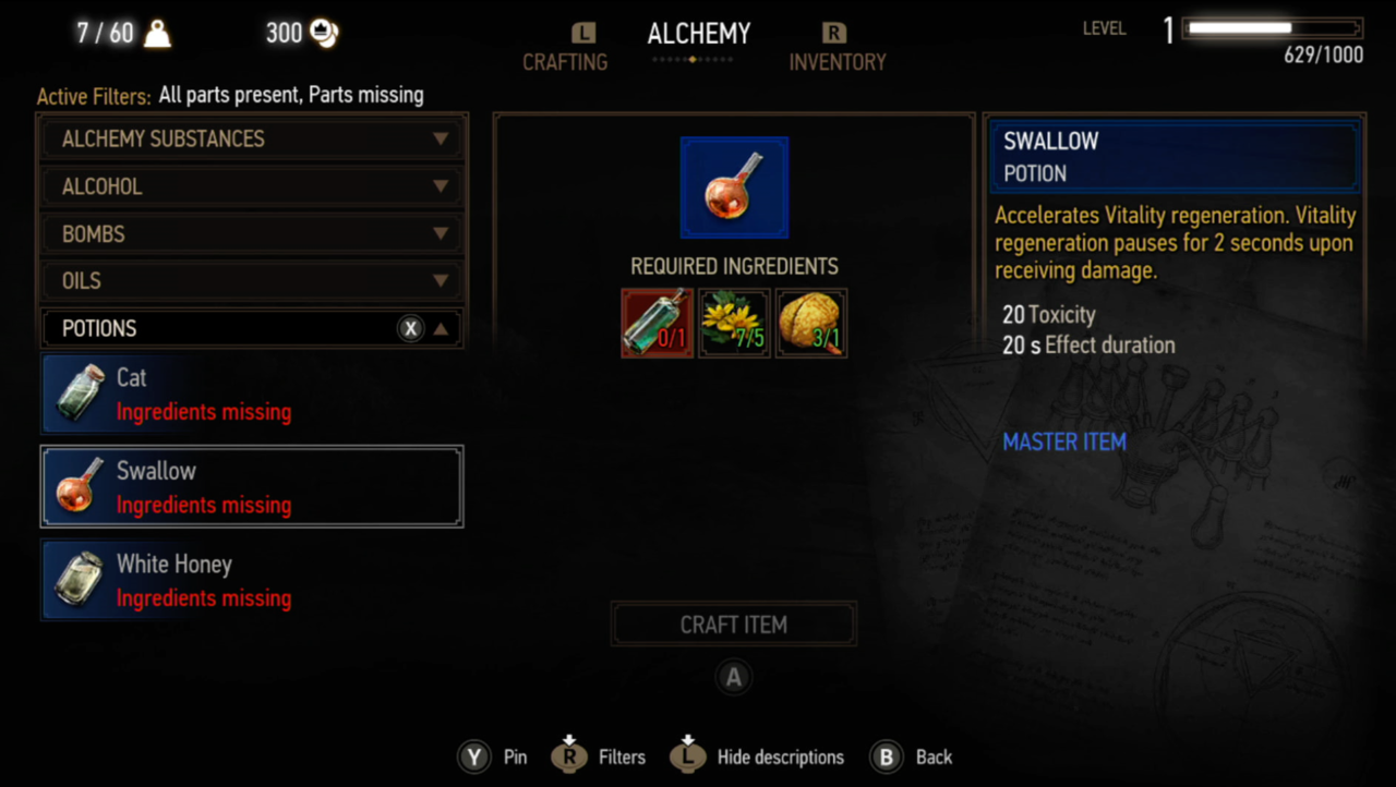 Alchemy 101: Potions, Decoctions, And Weapon Oils