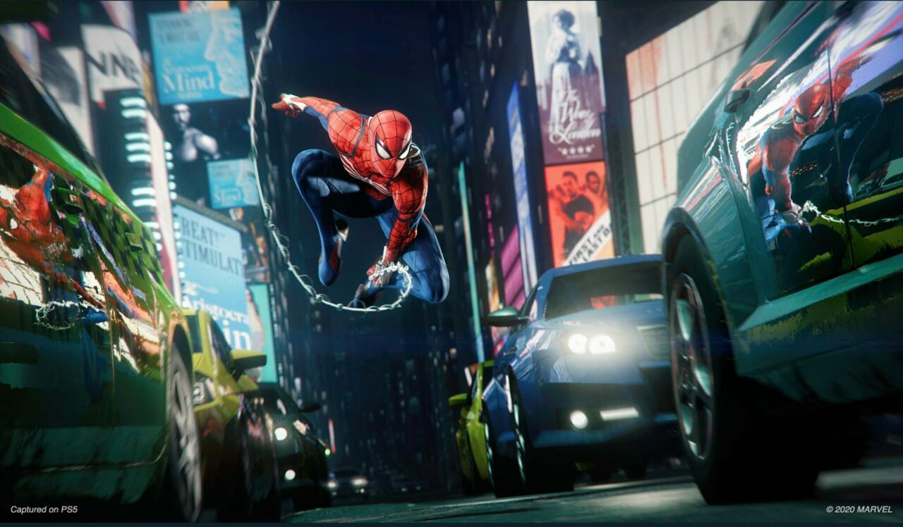 The Ultimate Edition of Spider-Man: Miles Morales includes a voucher code for Spider-Man Remastered, an improved next-gen version of the 2018 game.