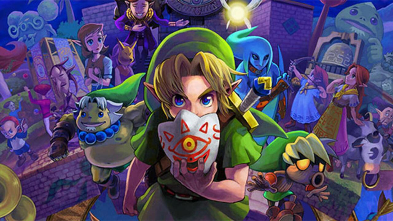 Ben Drowned: The Haunting In The Legend Of Zelda: Majora's Mask