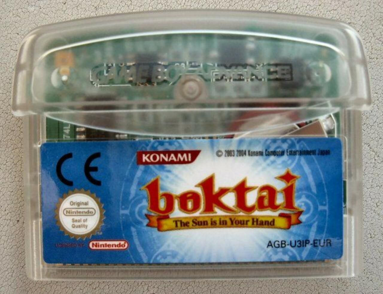 Boktai's Solar Sensor