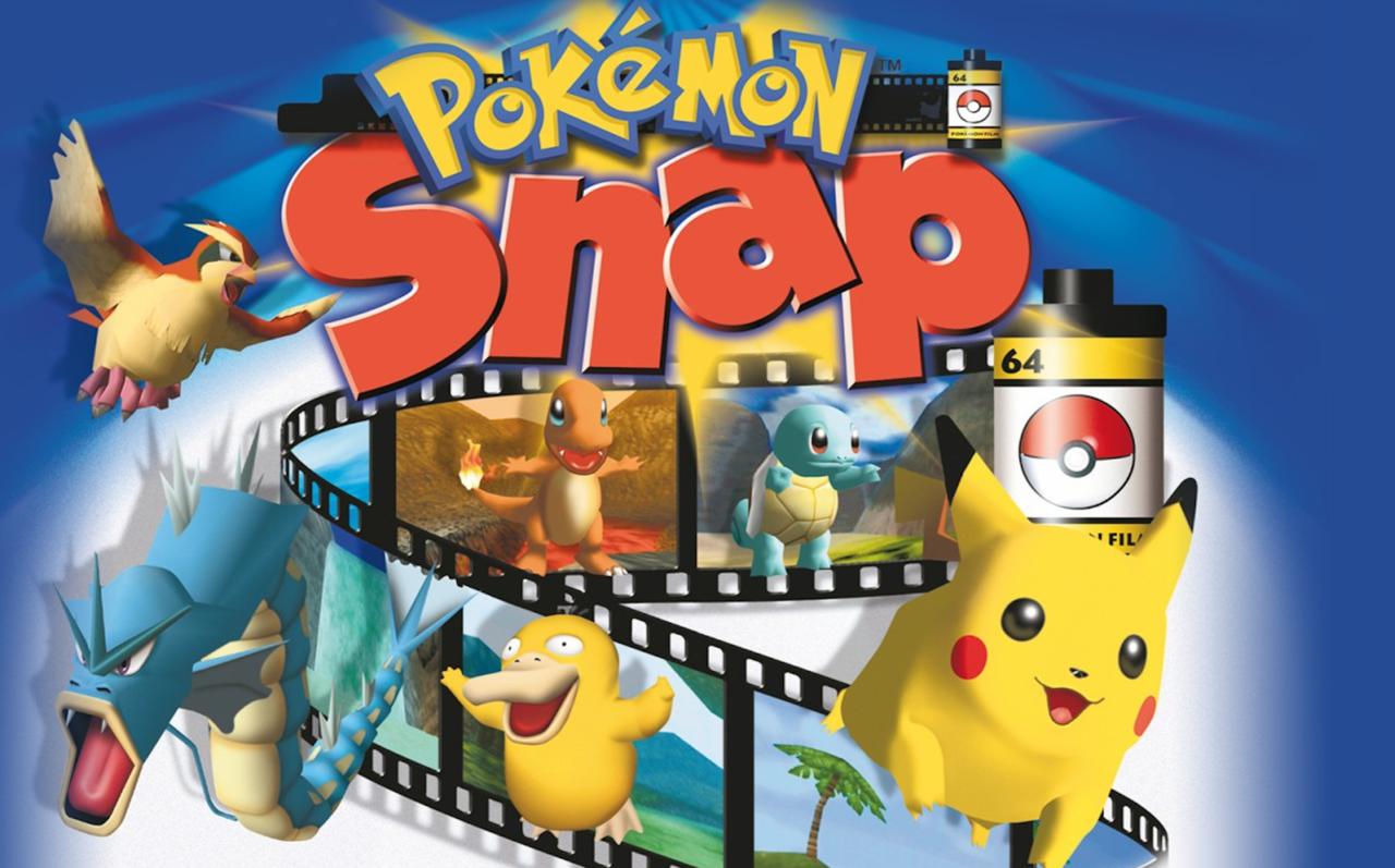 Pokemon Snap (1999)