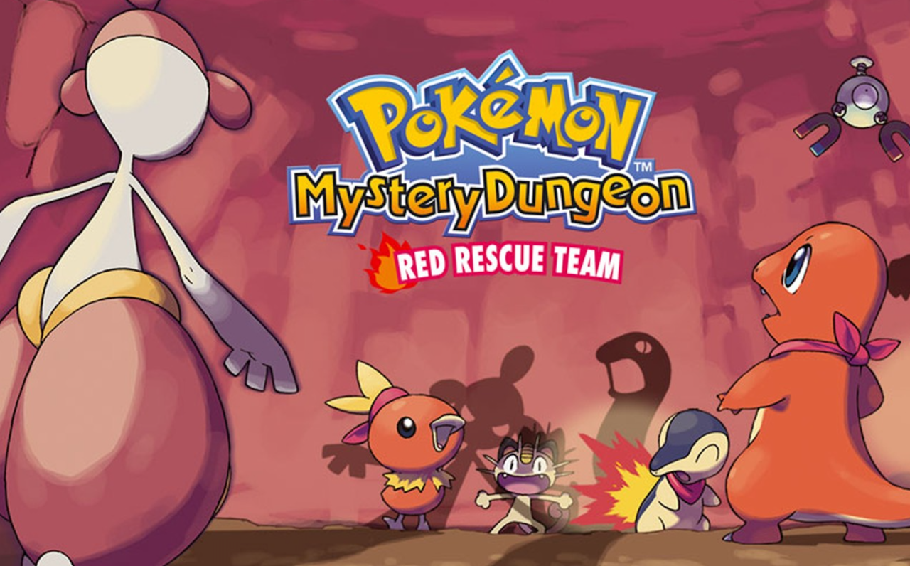 Pokemon Mystery Dungeon: Red Rescue Team (2006)