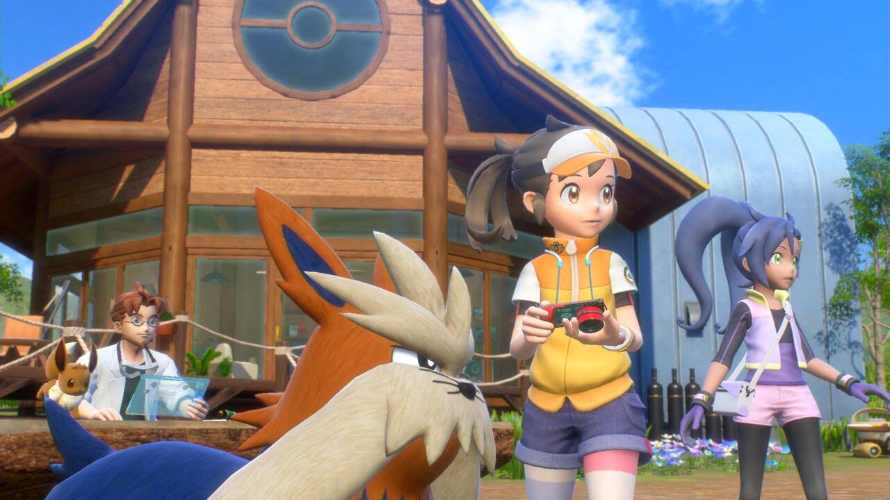 Há mais uma história em New Pokémon Snap.
