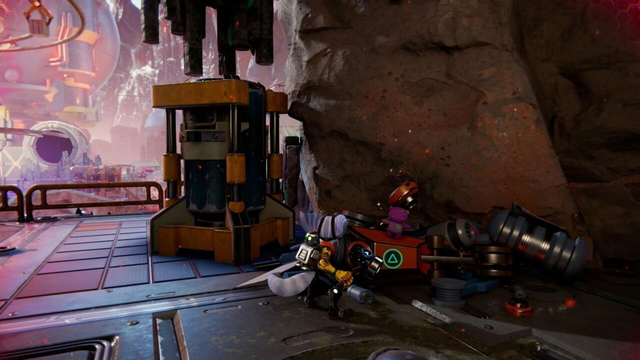In Blizar Prime, there's a CraiggerBear sitting on a junkpile.