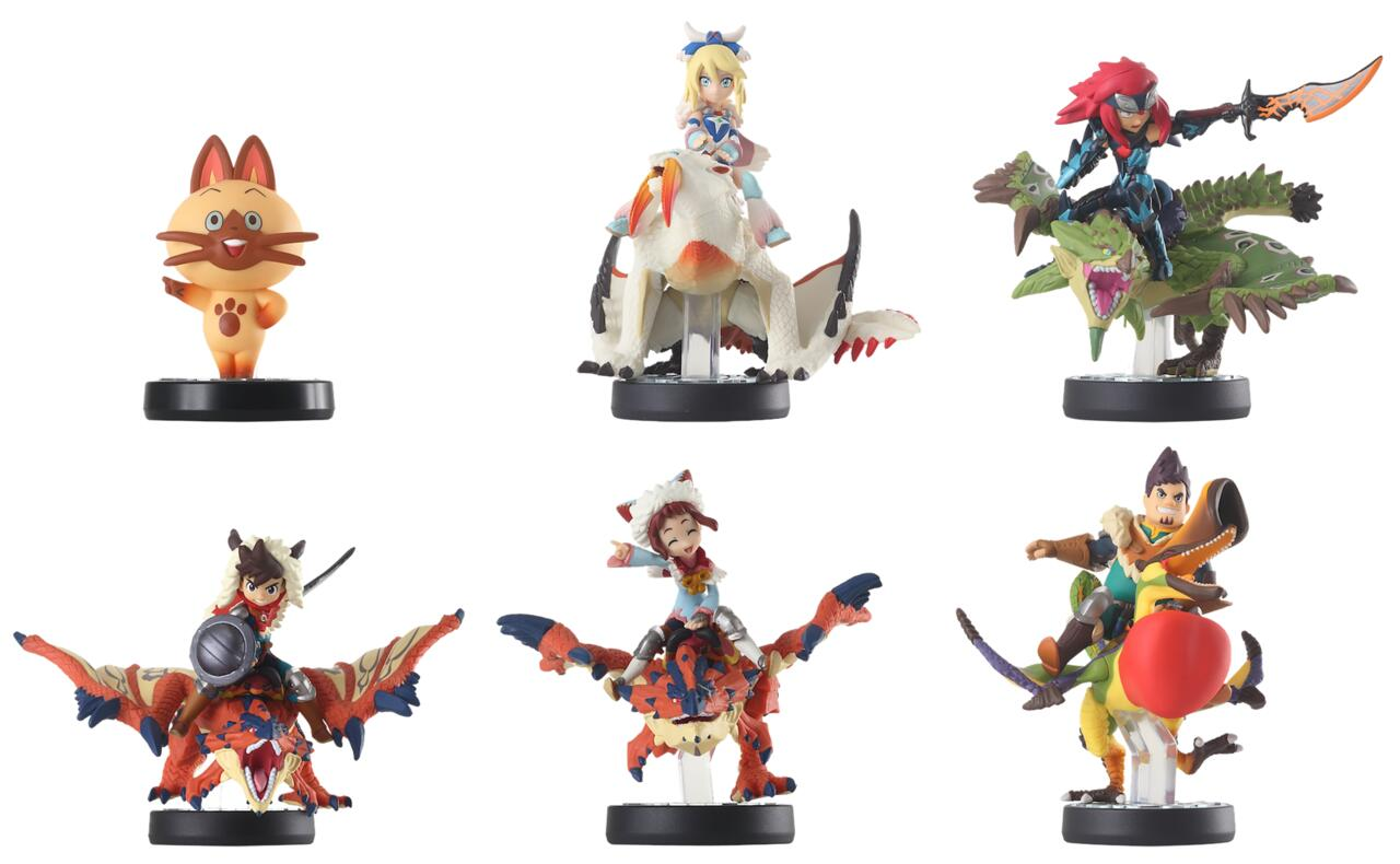 If you were lucky enough to import the original Monster Hunter Stories Amiibo, then you'll be happy to know they can also be scanned in.