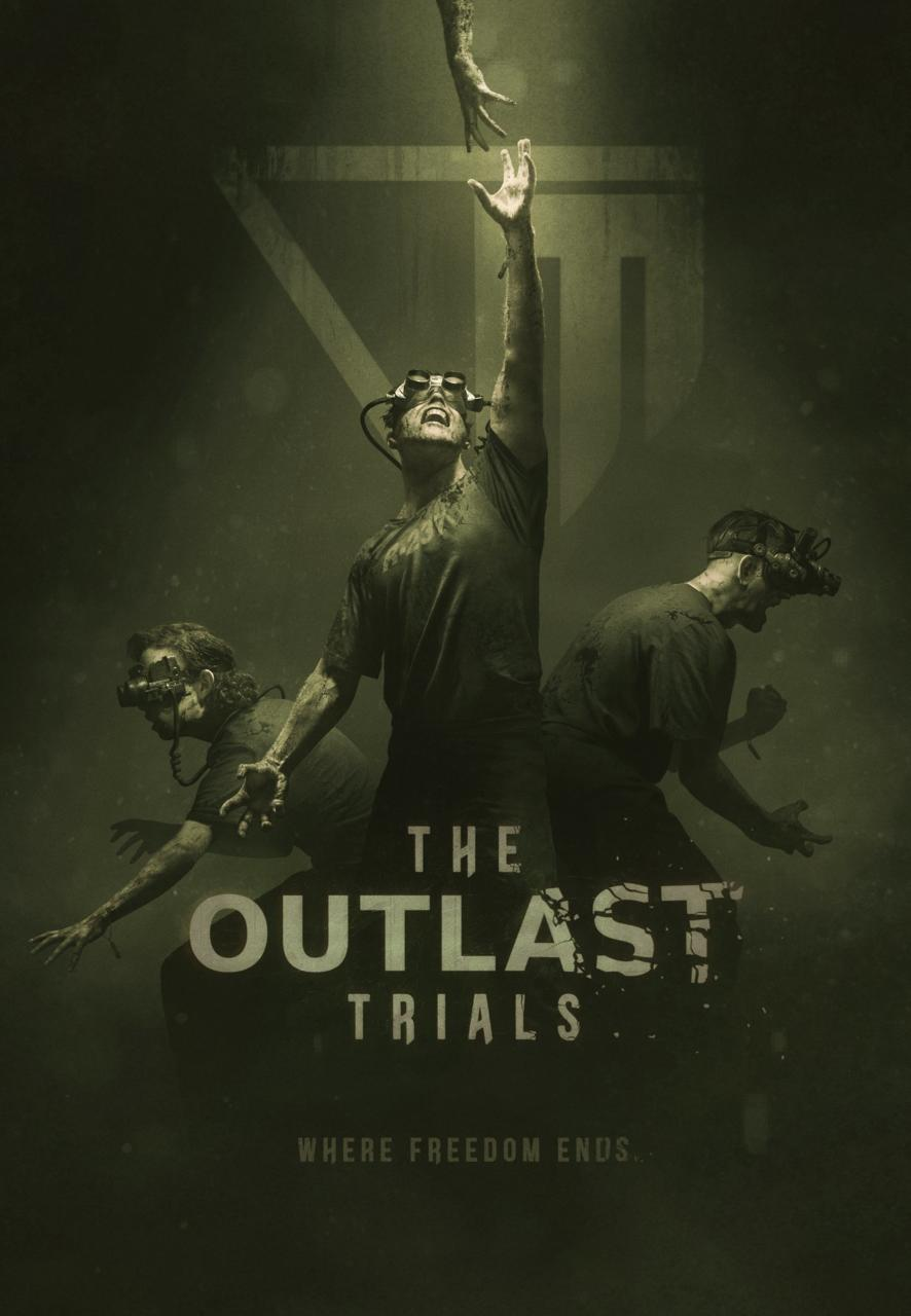 The Outlast Trials poster gives off some Saw vibes.