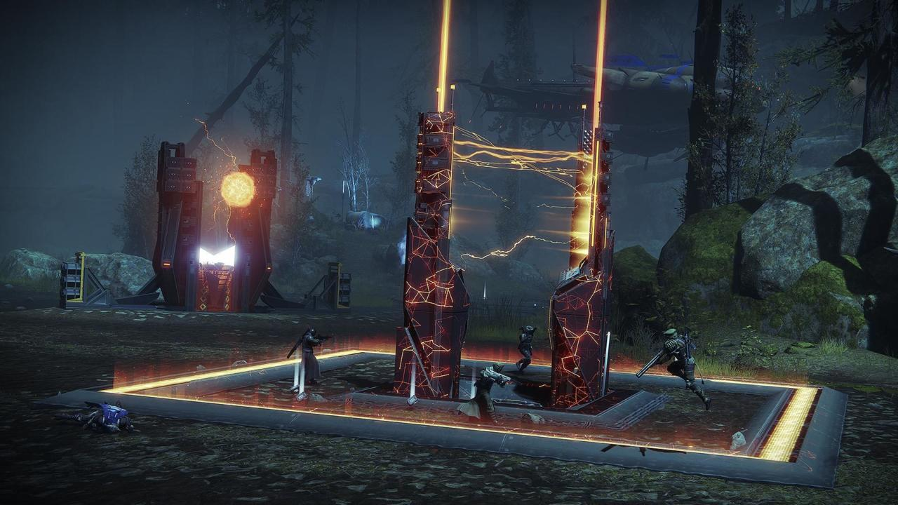 One of the new activities tasks you with activating Rasputin's Seraph Towers.