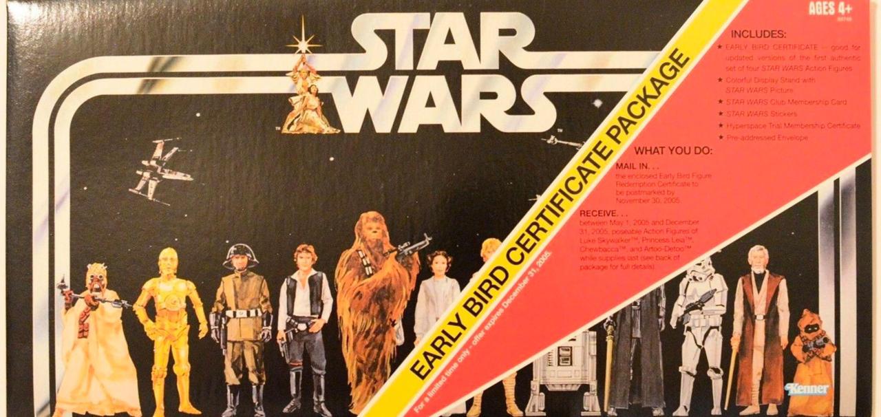 Empty Star Wars Box