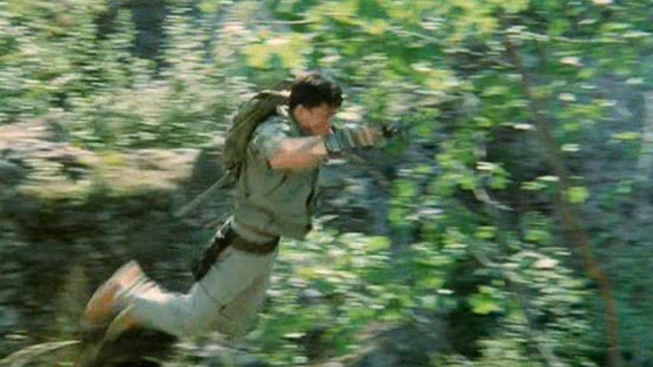 5. Armour Of God (1987) - Wall Jump