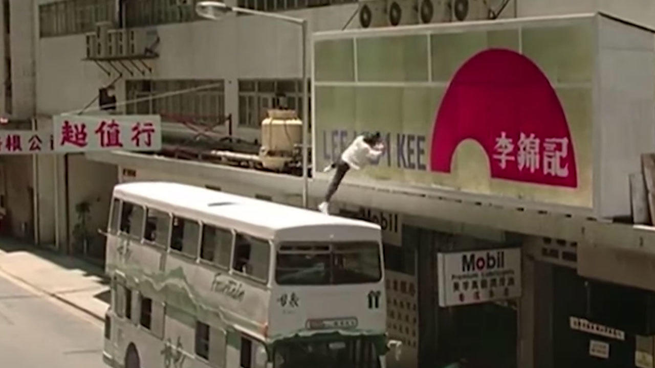 3. Police Story 2 (1988) - Bus Jump