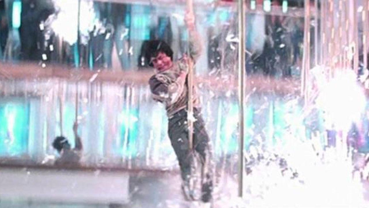 1. Police Story (1985) - Pole Slide