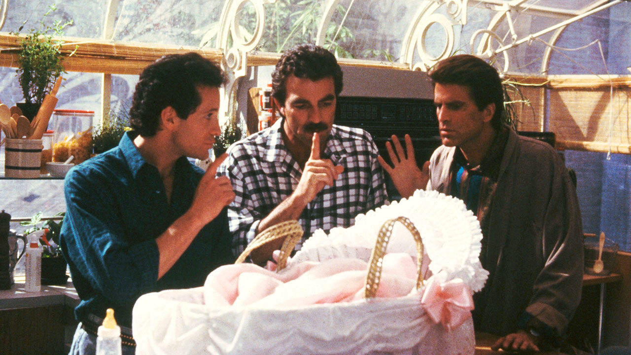8. Three Men and a Baby (1987)