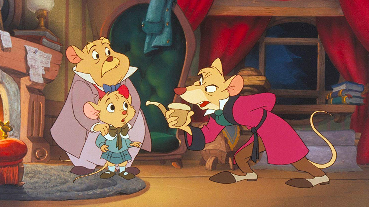 7. The Great Mouse Detective (1986)