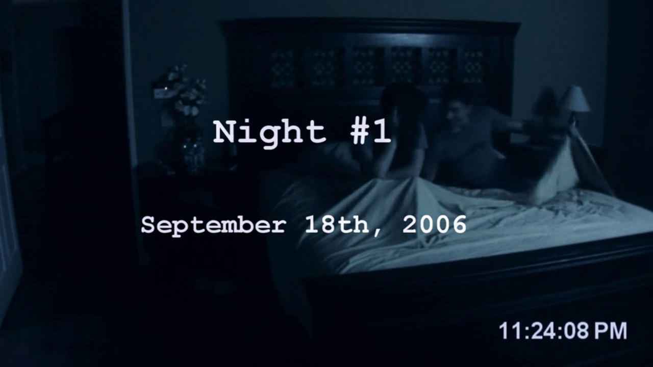 1. Director Orin Peli was inspired by late night noises