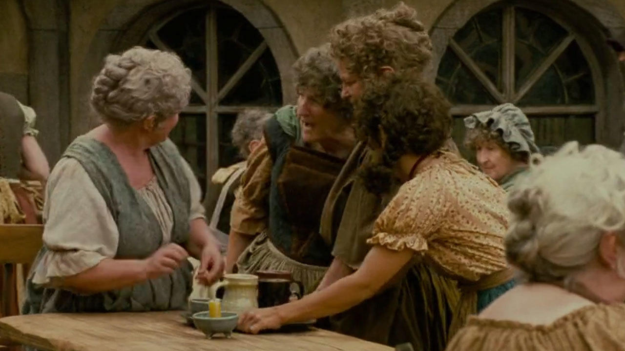 5. There was love among the hobbit extras