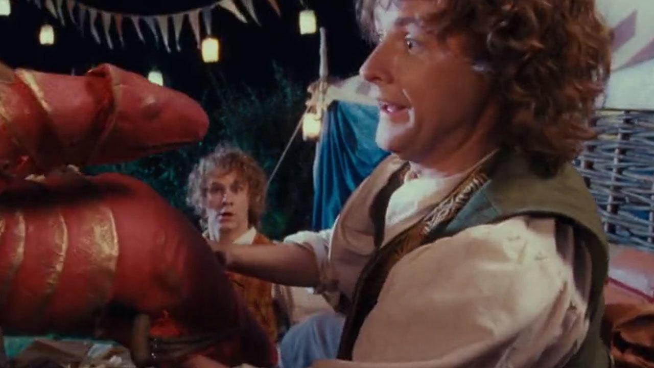 9. Billy Boyd didn't need a hobbit wig