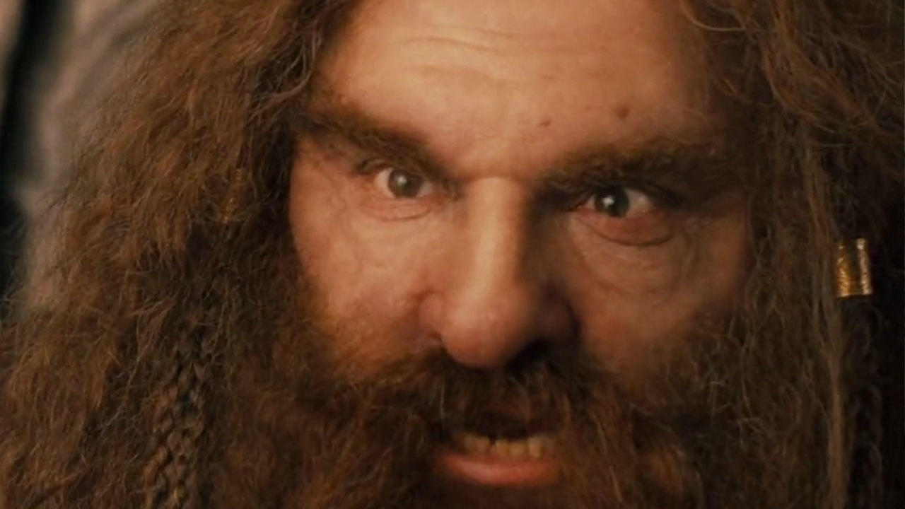 23. Gimli the dwarf was played by the tallest actor