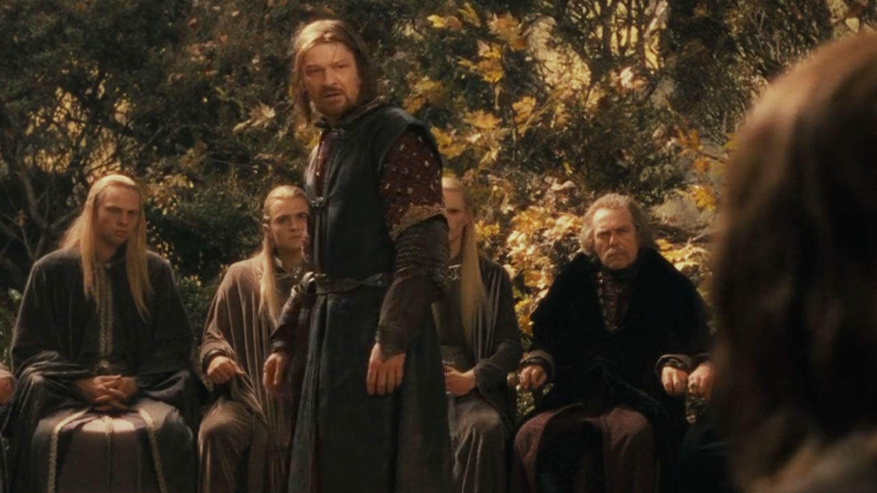 24. Filming the Council of Elrond caused logistical problems