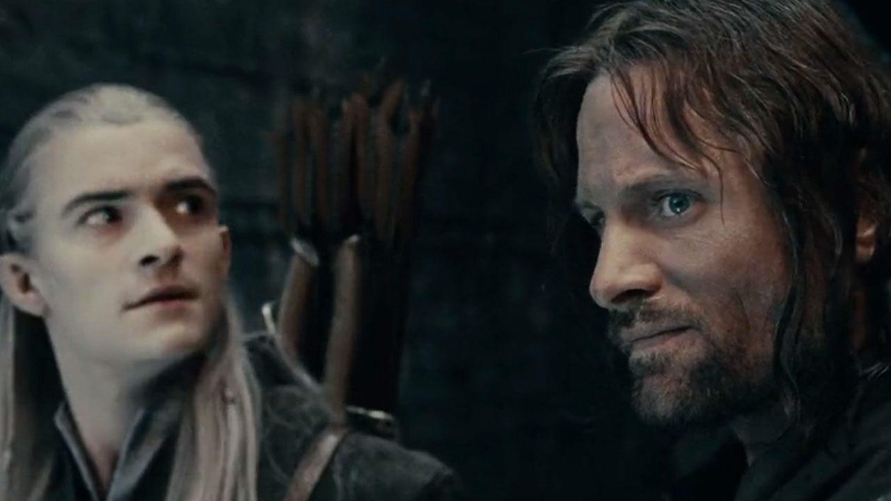 28. Viggo Mortensen had to be shot from the side to hide an injury