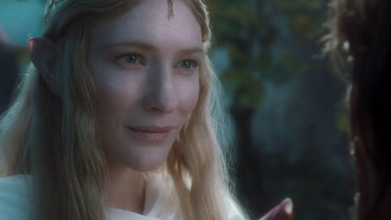 32. The theatrical version was criticized for Galadriel's dark vibes