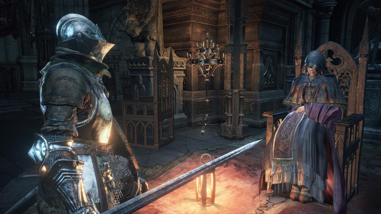 Many of Dark Souls III's secrets won't be clear until your second playthrough.