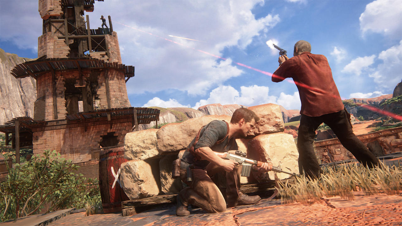 Uncharted 4 doesn't contain a sprint option. While that's not unusual for the series, Uncharted 4's larger areas make its absence more noticeable.