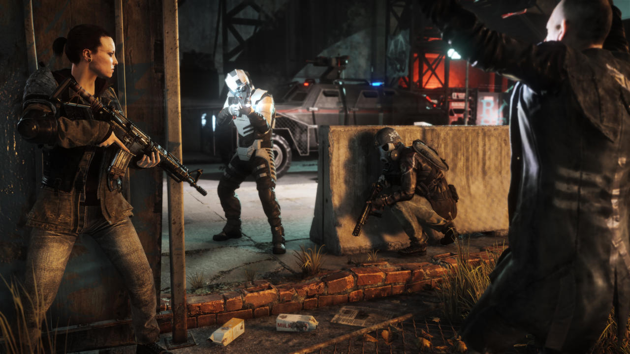 Homefront is mainly guns and carnage, but you'll also encounter a few platforming puzzles while exploring its districts.