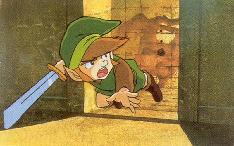 Young Link is voiced by a woman.