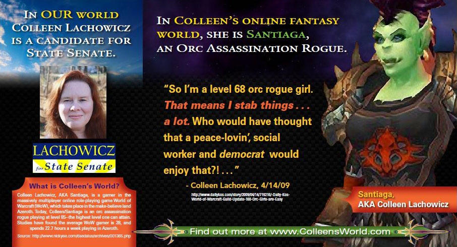 World of Warcraft has been hot-button political issue.