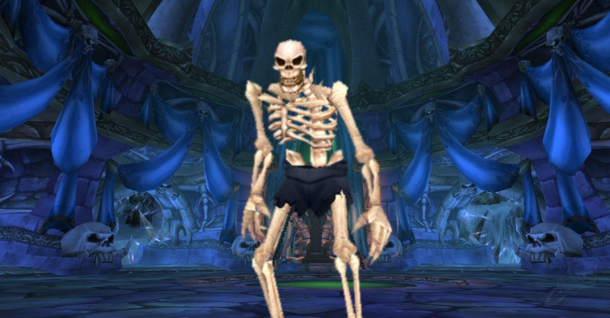 Skeletons are too unhealthy for China's censors.