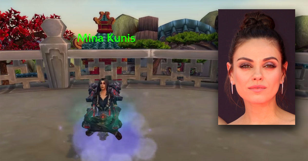 Mila Kunis also has her own in-game NPC.