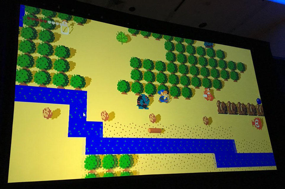 Breath of the Wild was play tested as an 8-bit game.