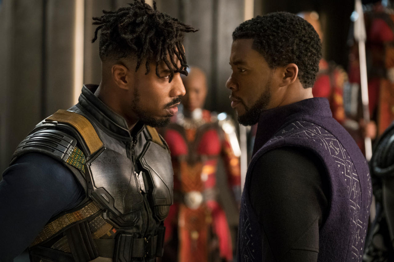 1. Black Panther (tie)
