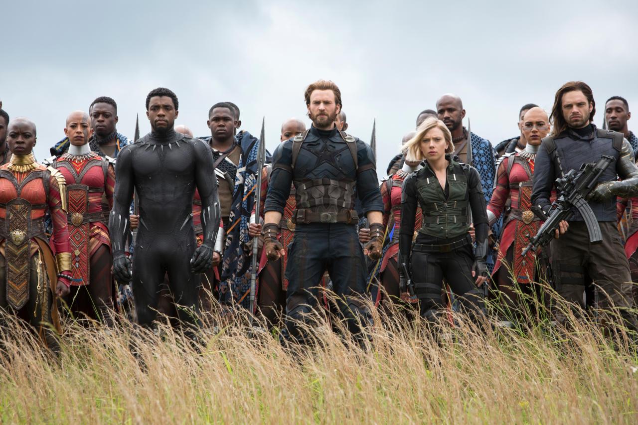 19. Avengers: Infinity War (tie)