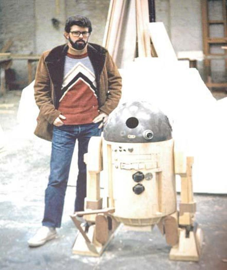 What was the original name of the first Star Wars movie when it went into production?