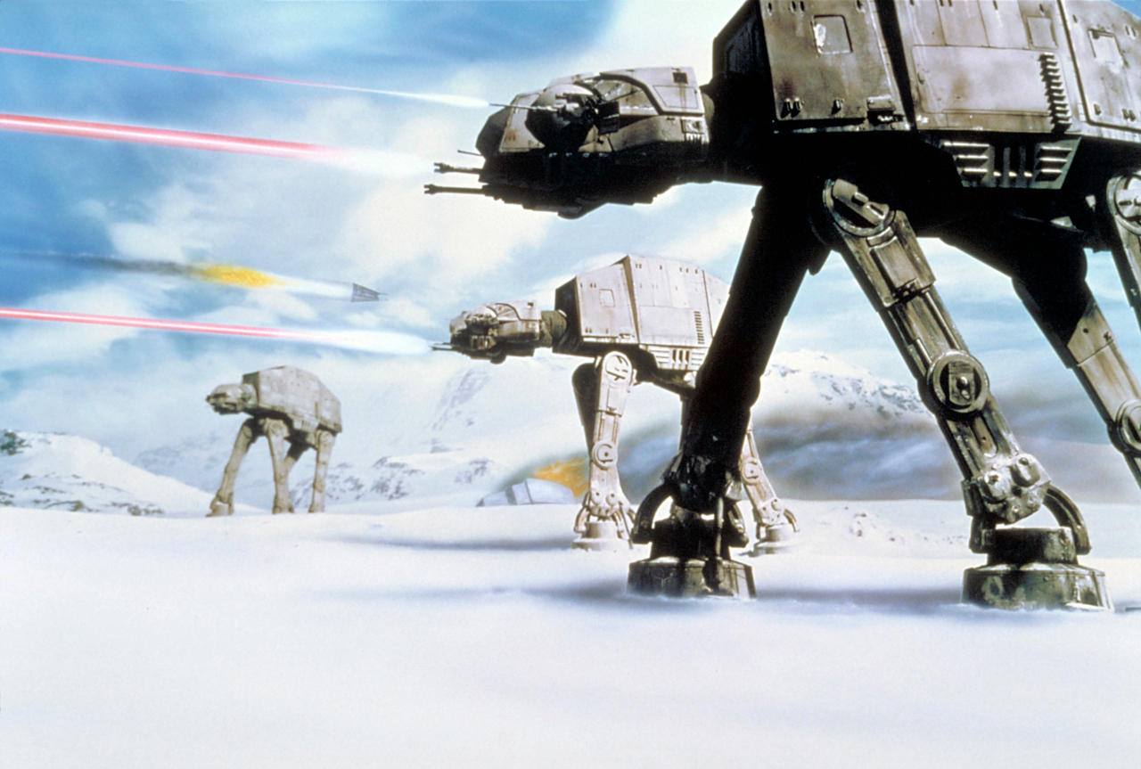 What does AT-AT stand for?