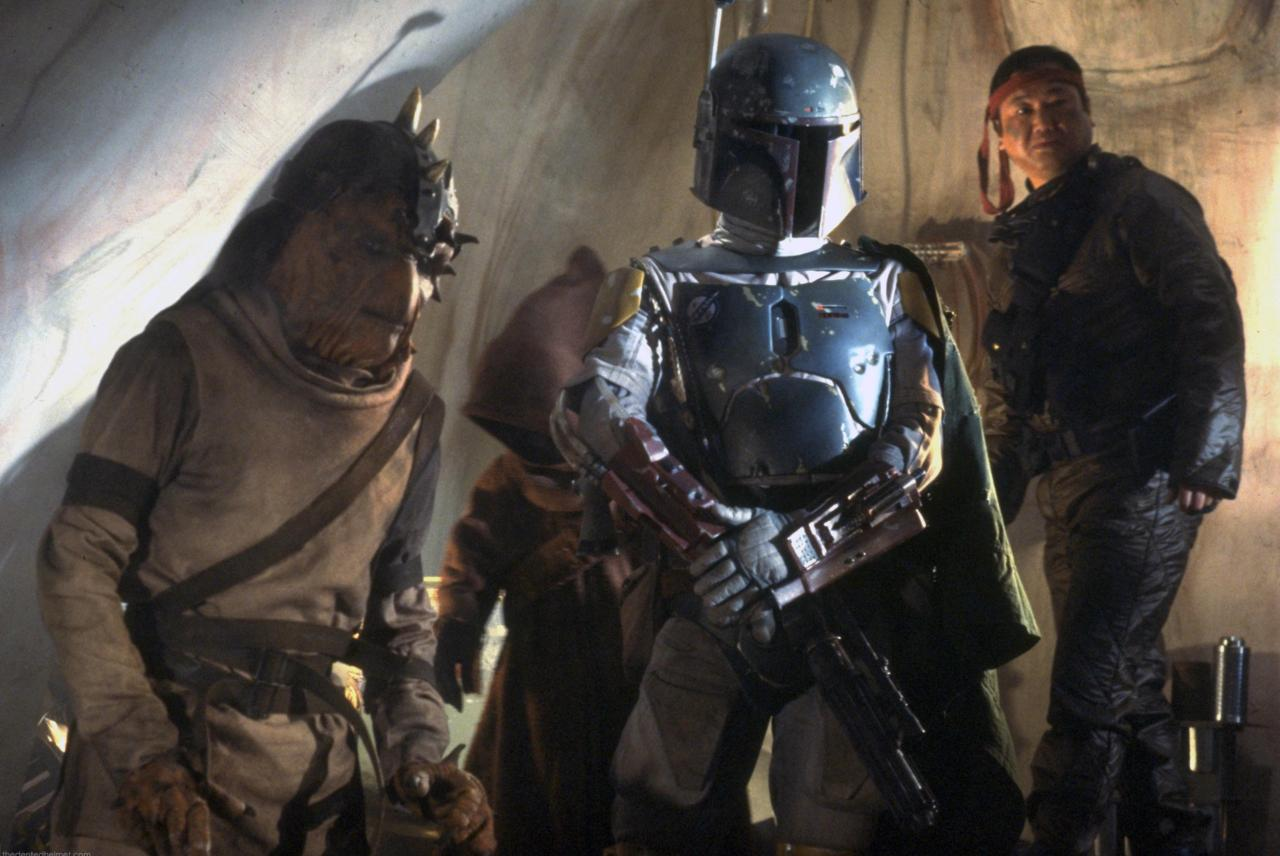 What is the name of Boba Fett's ship?