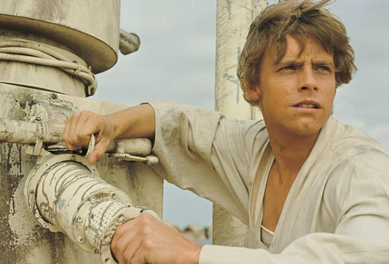 Where was Luke Skywalker originally headed to pick up power converters?