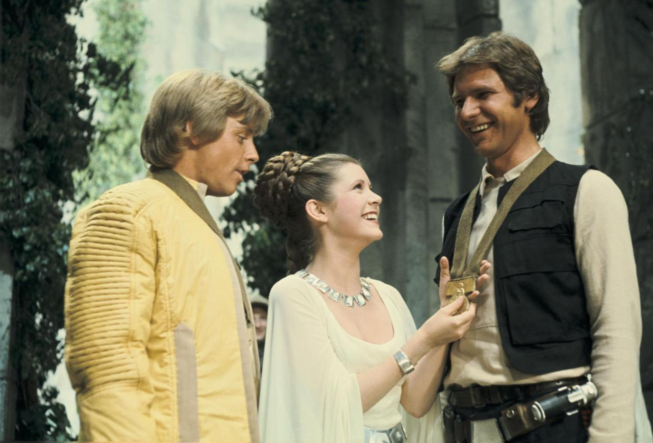 Who kissed Leia first -- Han or Luke?