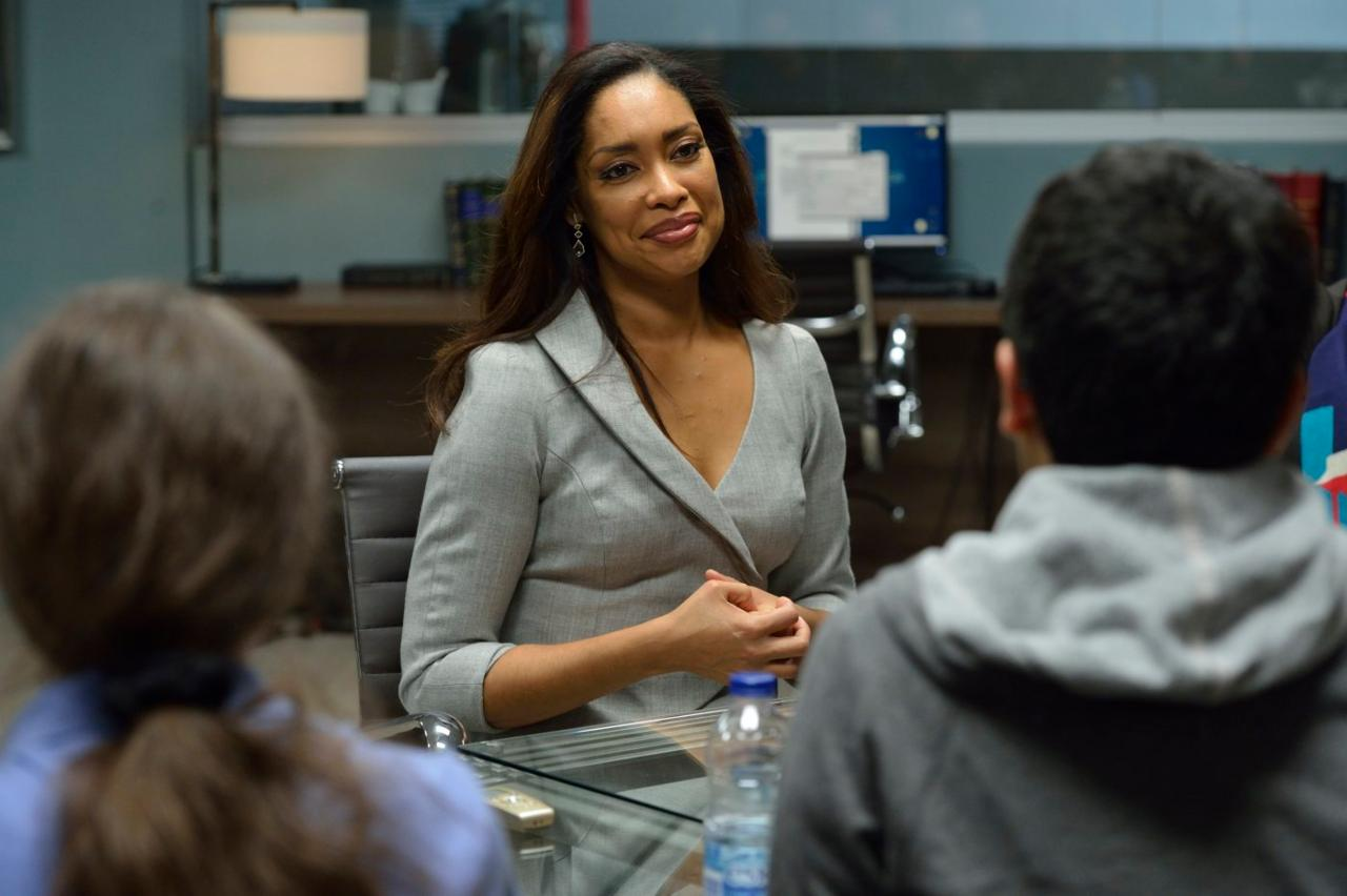 Gina Torres, who plays Jessica Pearson