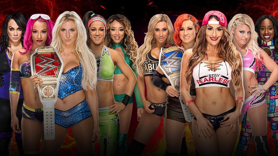 Raw vs. Smackdown: Women's Division