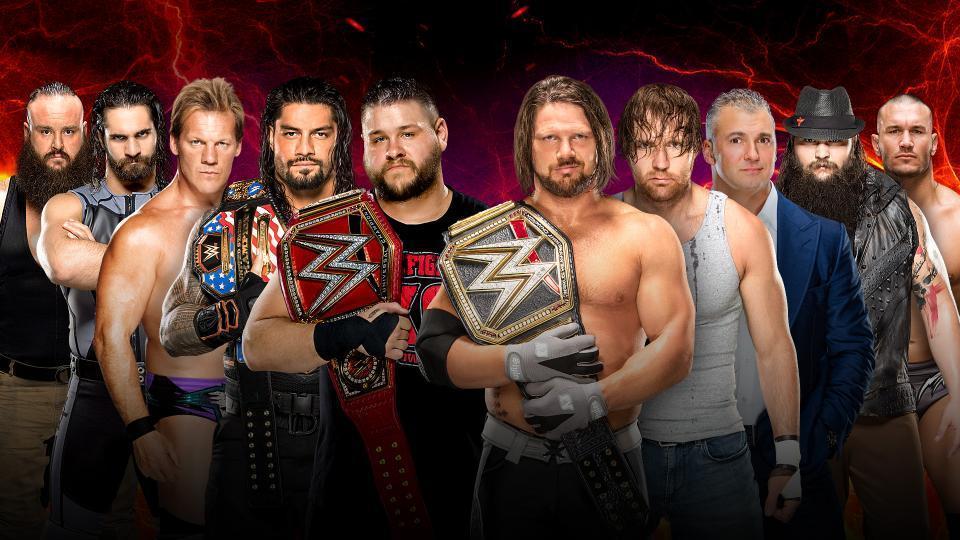 Raw vs. Smackdown: Men's Division