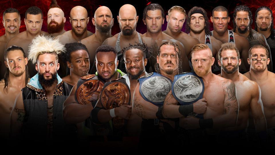 Raw vs. Smackdown: Tag Team Division