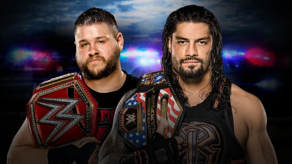 Kevin Owens (c) vs. Roman Reigns