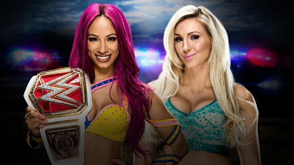 Sasha Banks (c) vs. Charlotte: 30-Minute Iron Man Match