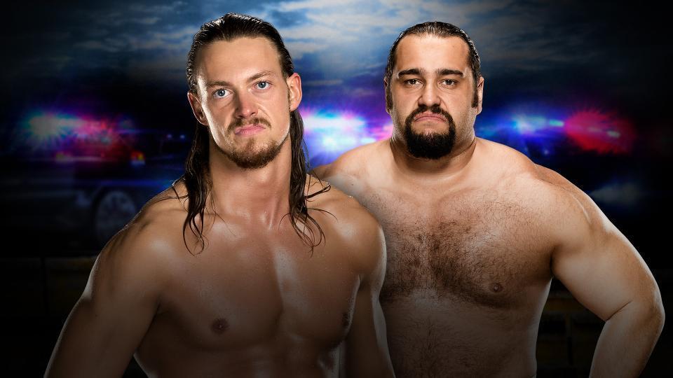 Kickoff Match: Big Cass vs. Rusev