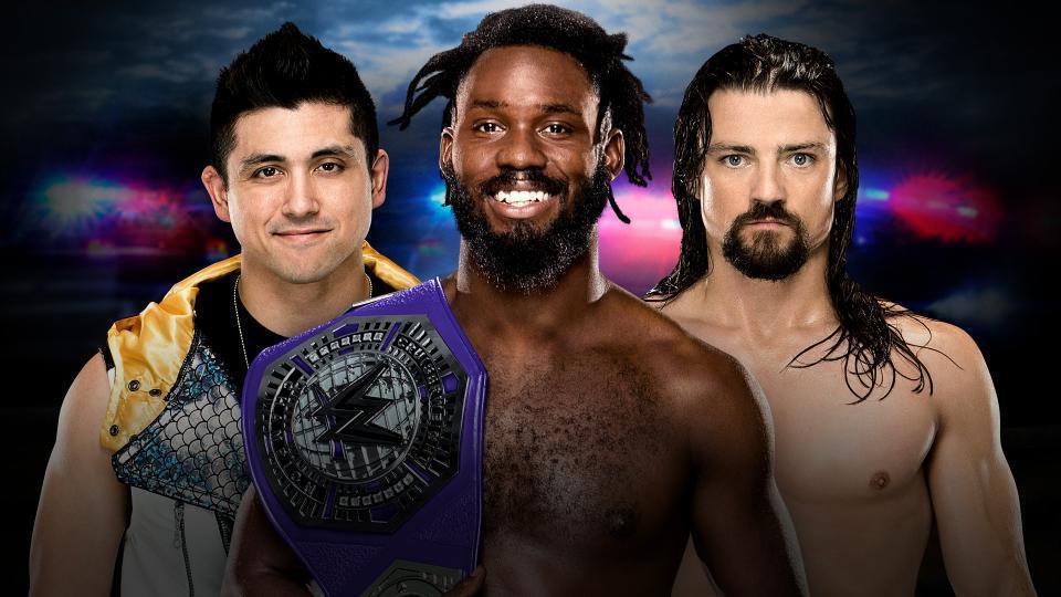 TJ Perkins vs. Rich Swann (c) vs. The Brian Kendrick